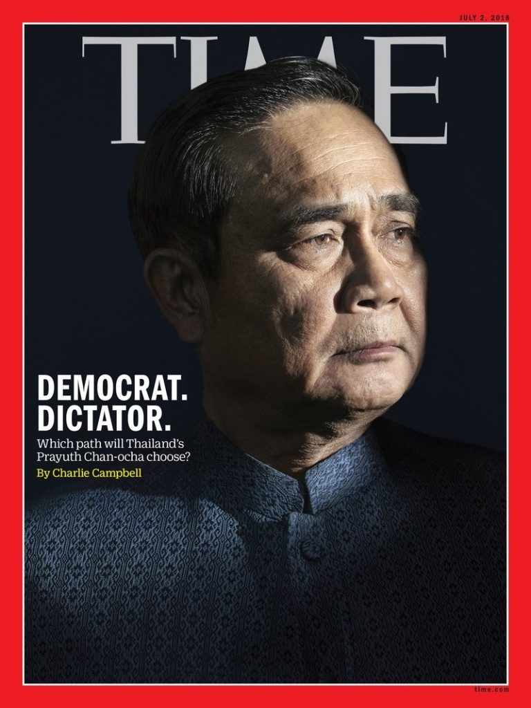 Thai PM features on front of Time magazine's Asia edition | News by Thaiger
