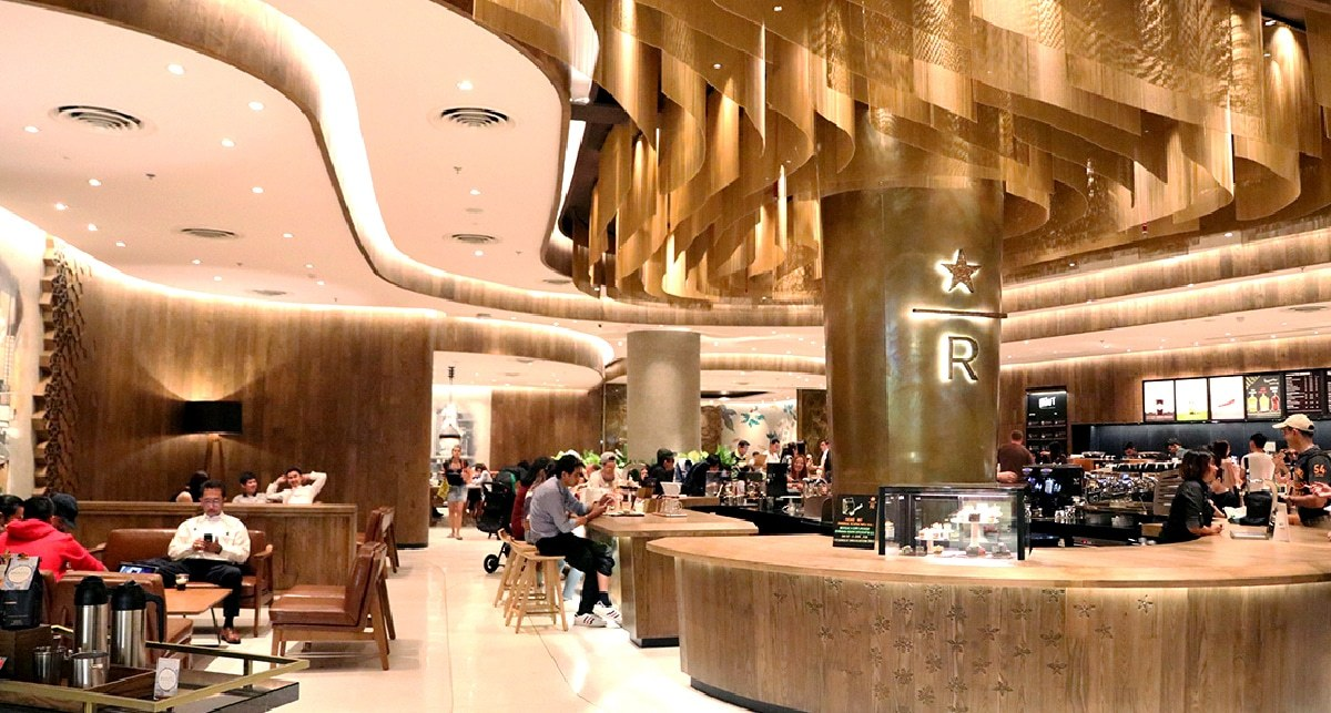New flagship Starbucks in Central World BKK – celebrating 20 years in Thailand | The Thaiger