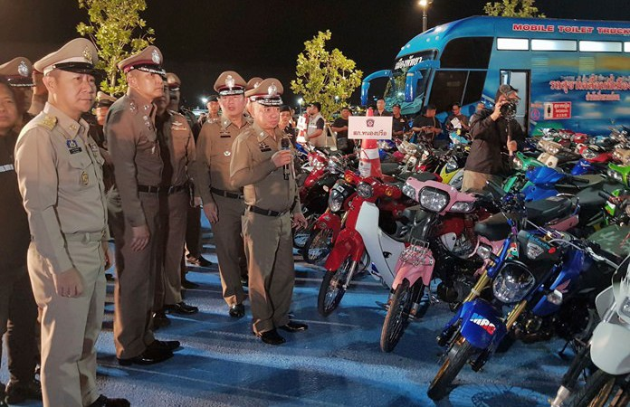 Pattaya: Crackdown on street racers nets 203 arrests | The Thaiger