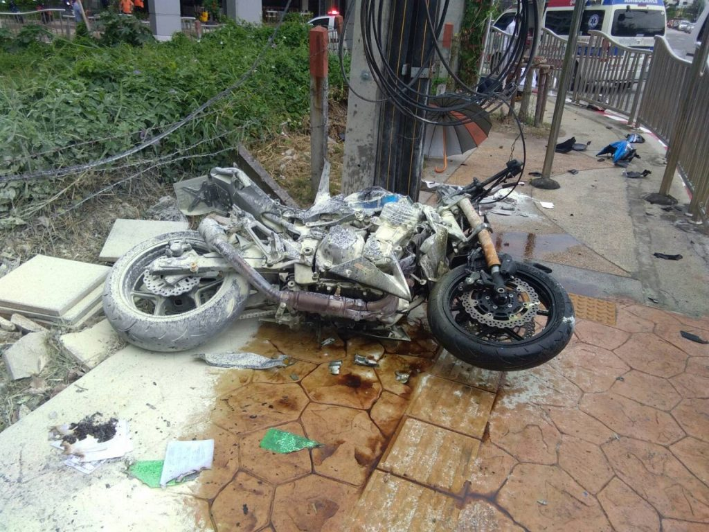 Man killed in Patong road accident | News by The Thaiger