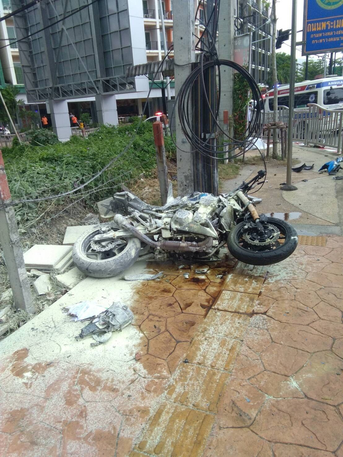 Man killed in Patong road accident | The Thaiger
