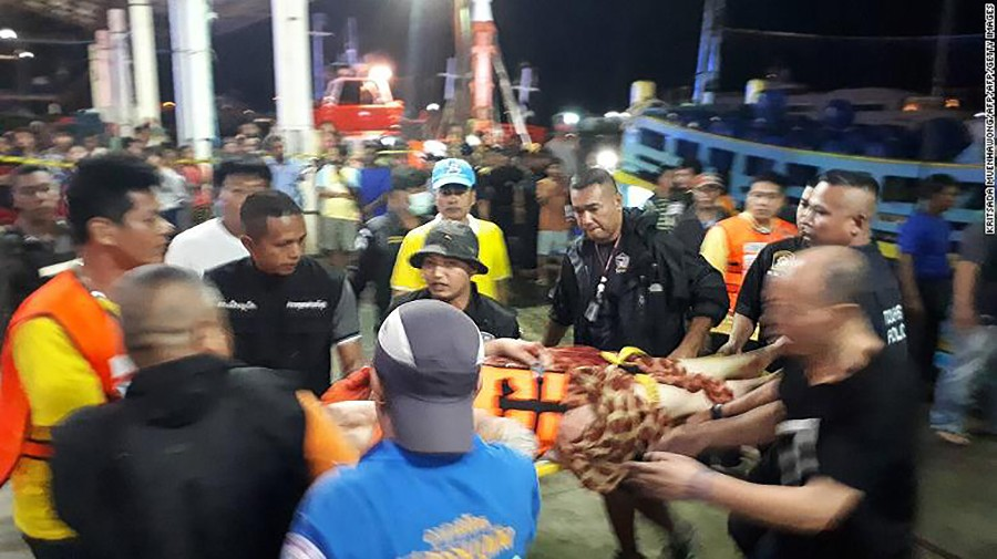 Chinese netizens rip into Phuket authorities' handling of boat disaster | The Thaiger