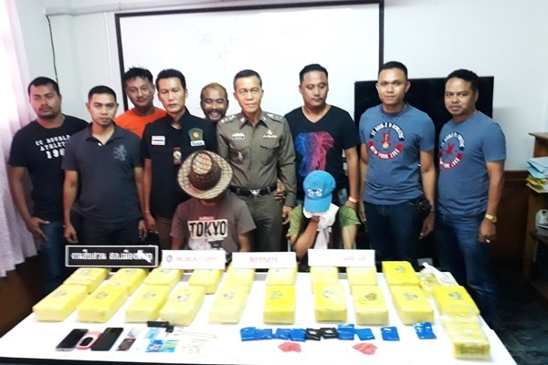 Four arrested with 200,000 methamphetamine pills in Phang Nga | News by The Thaiger
