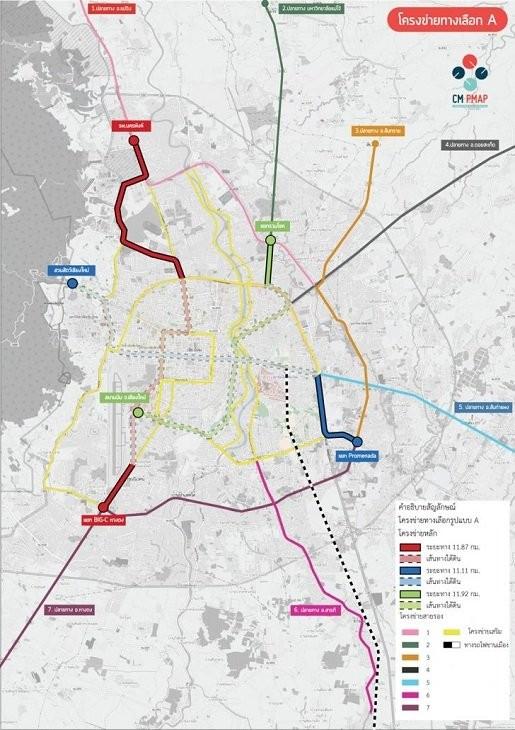 86 billion baht budget set for Chiang Mai light rail system | News by Thaiger