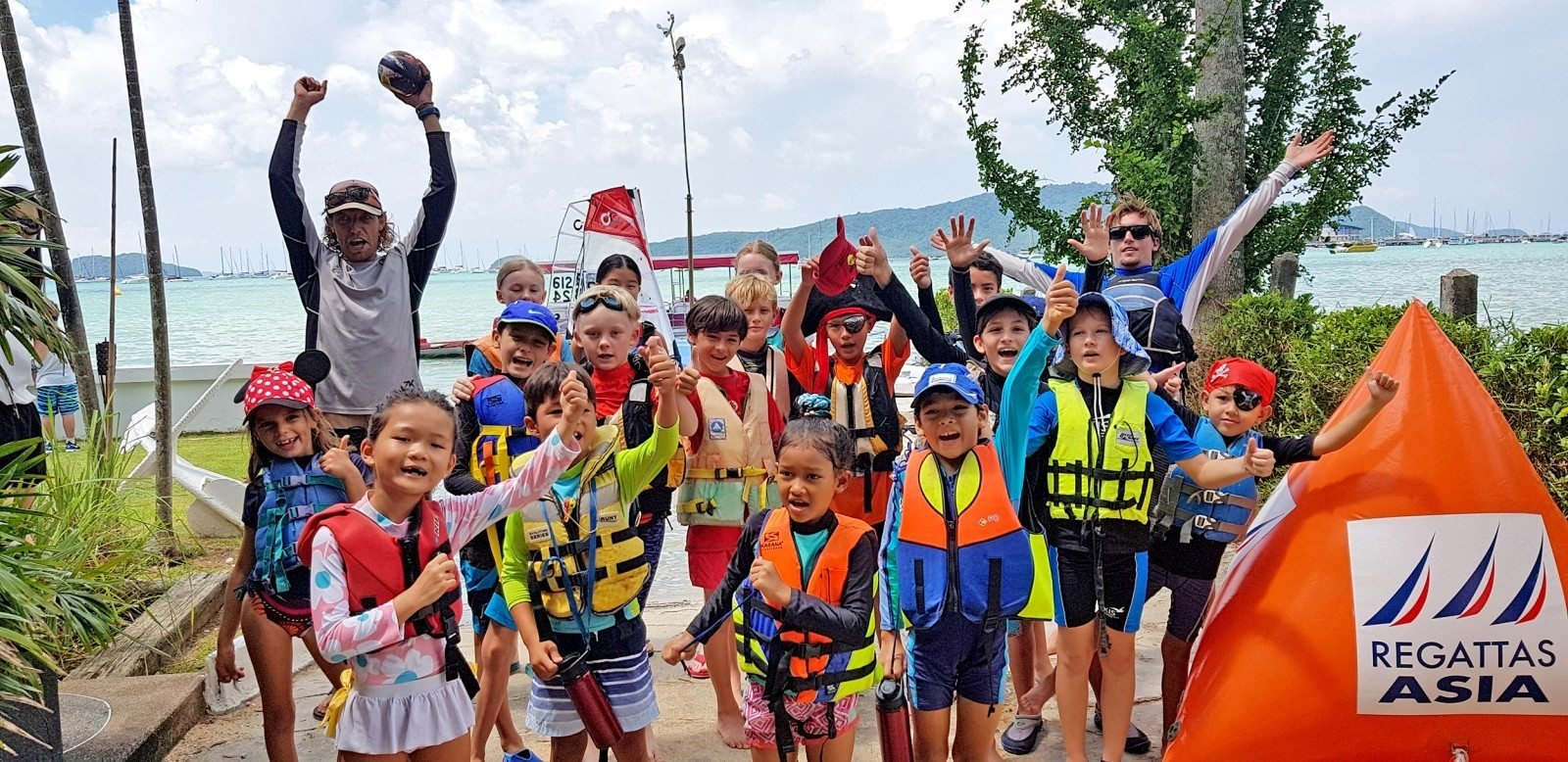 Phuket Yacht Club getting kids started in sailing | The Thaiger