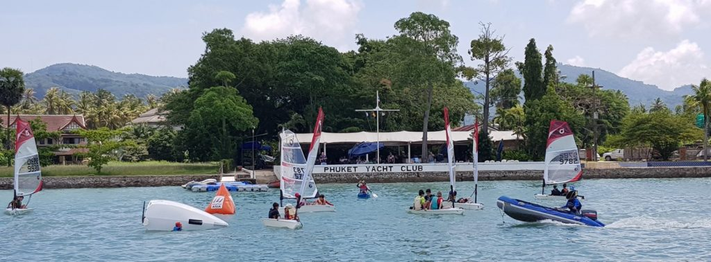 Phuket Yacht Club getting kids started in sailing | News by The Thaiger