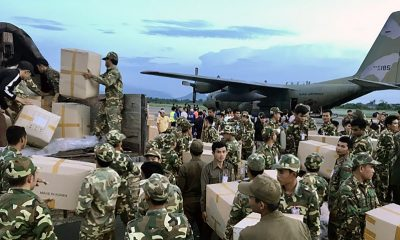 South Korean medical team arrives in southern Laos with relief supplies | The Thaiger