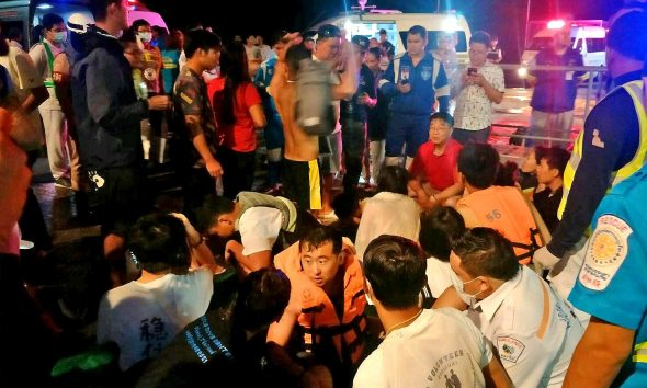 Many still missing, one dead. Search resumes this morning off Phuket. | The Thaiger