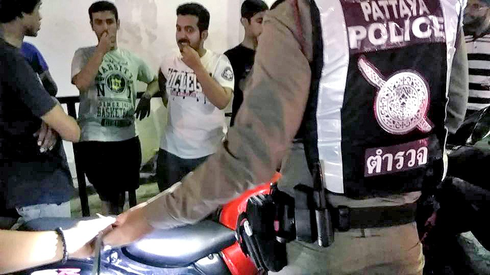 Middle-eastern motorbike racers rounded up in Pattaya | News by The Thaiger