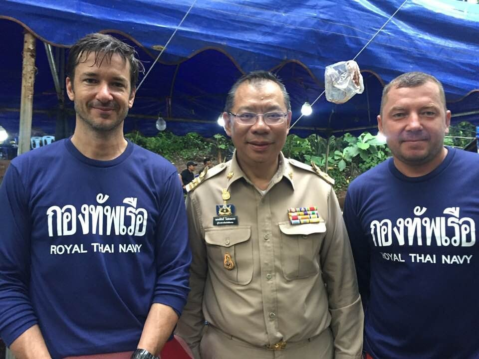 Interview with Ben Reymenants - Phuket diver diving at the Tham Luang caves | News by Thaiger