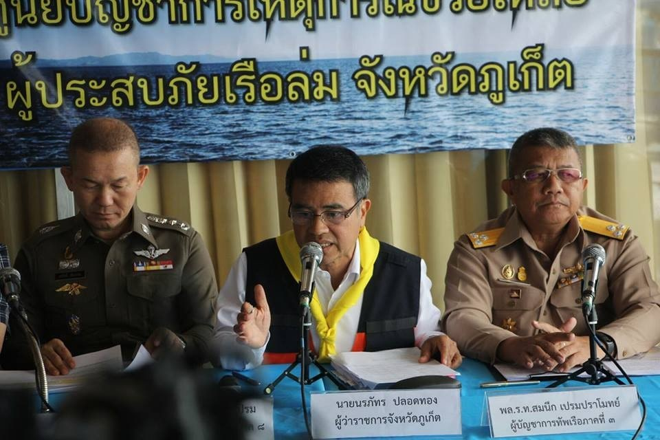 Phuket boat disaster toll: 42 survivors, 46 found dead, 1 remains missing   News by Thaiger