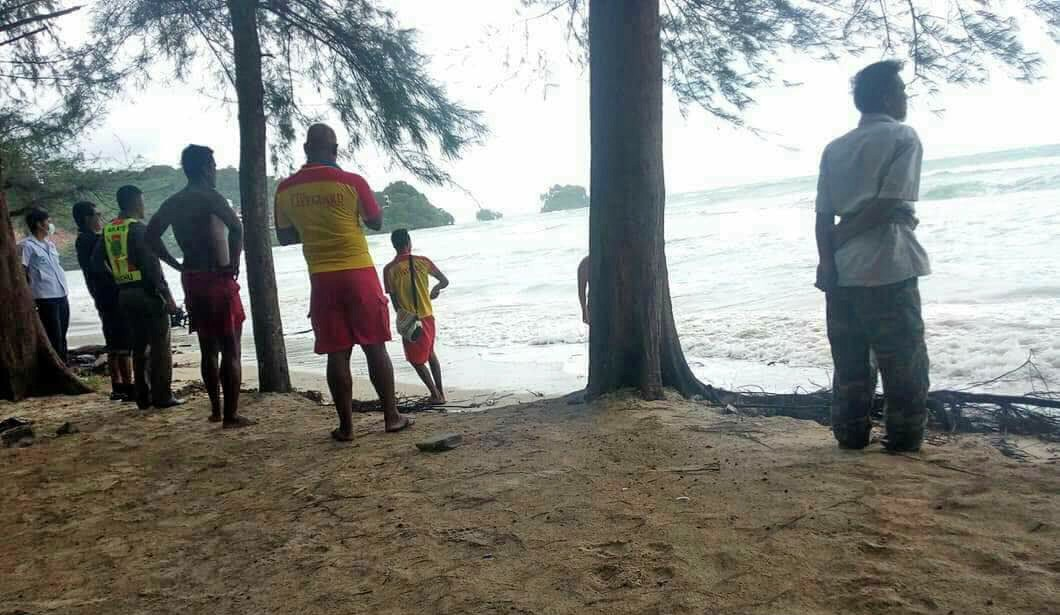 One missing in Nai Yang beach accident – Photos and video | The Thaiger