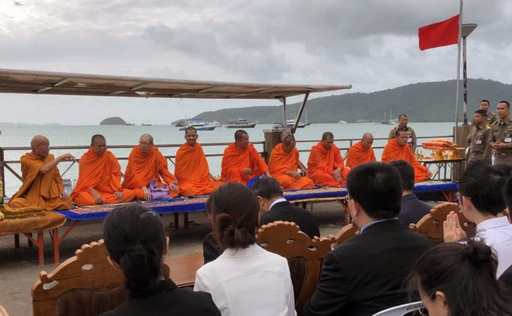 Buddhist ceremony commemorates deceased passengers | News by Thaiger