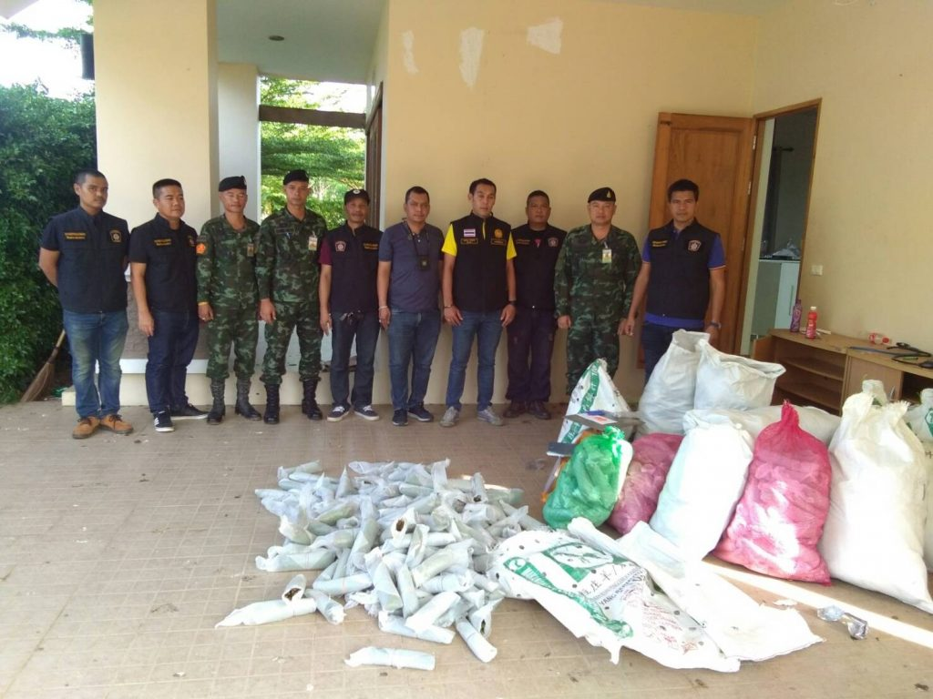 Police raid Thalang houses, seize 207 kilograms of drugs | News by Thaiger