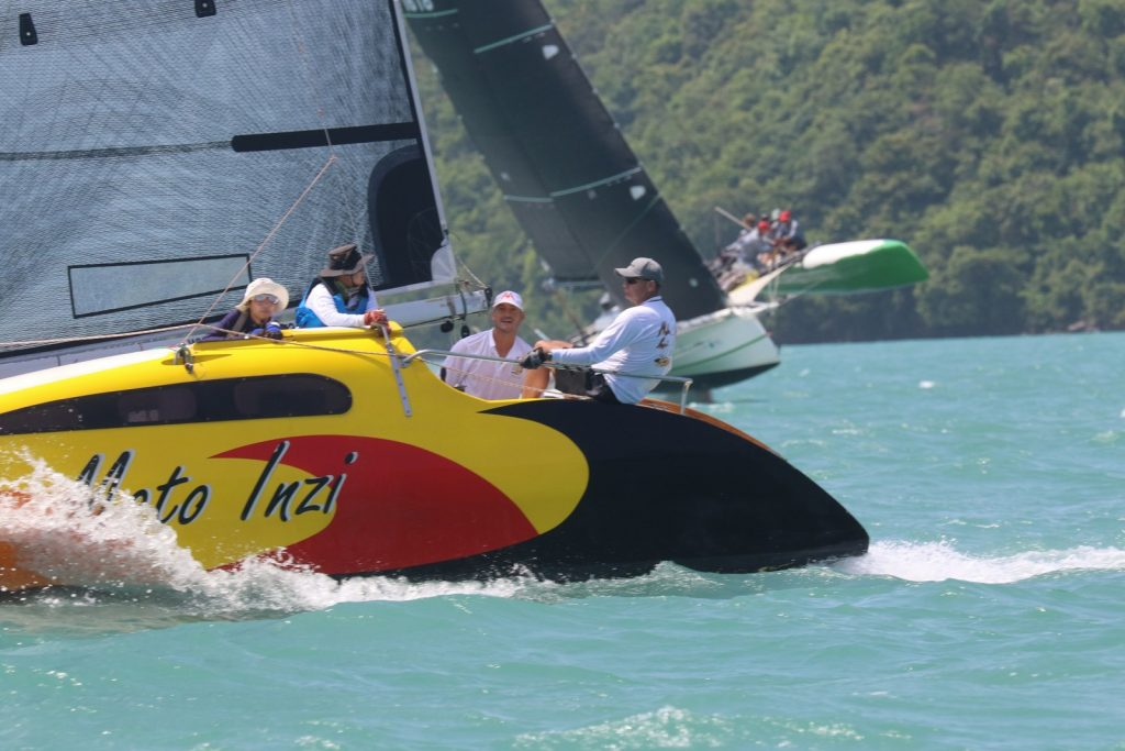 Thrills and spills - Day Two of Multihull Solutions Regatta | News by Thaiger