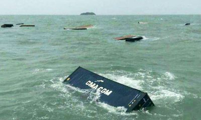 Trang shipping container retrieval will resume tomorrow | The Thaiger