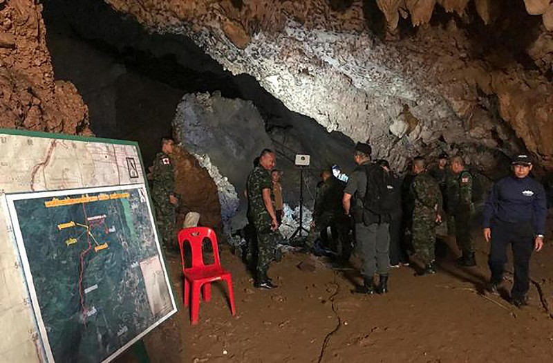 Chiang Rai: A long and winding rescue ahead | News by Thaiger
