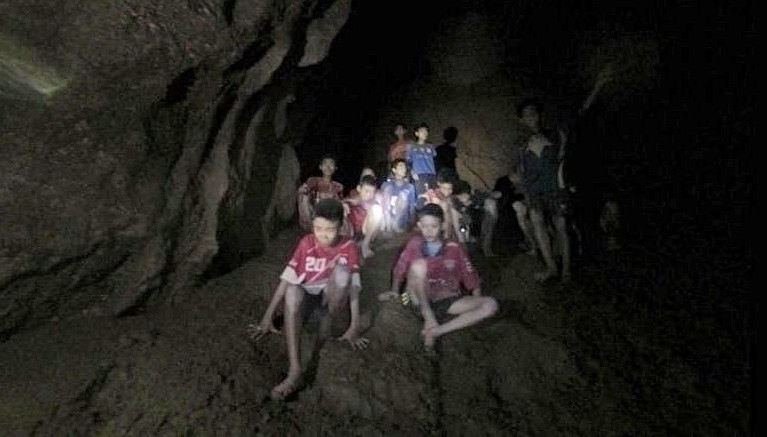 """""""Alert and in good spirits."""" Team alive. Rescuers now face evacuation challenges. 