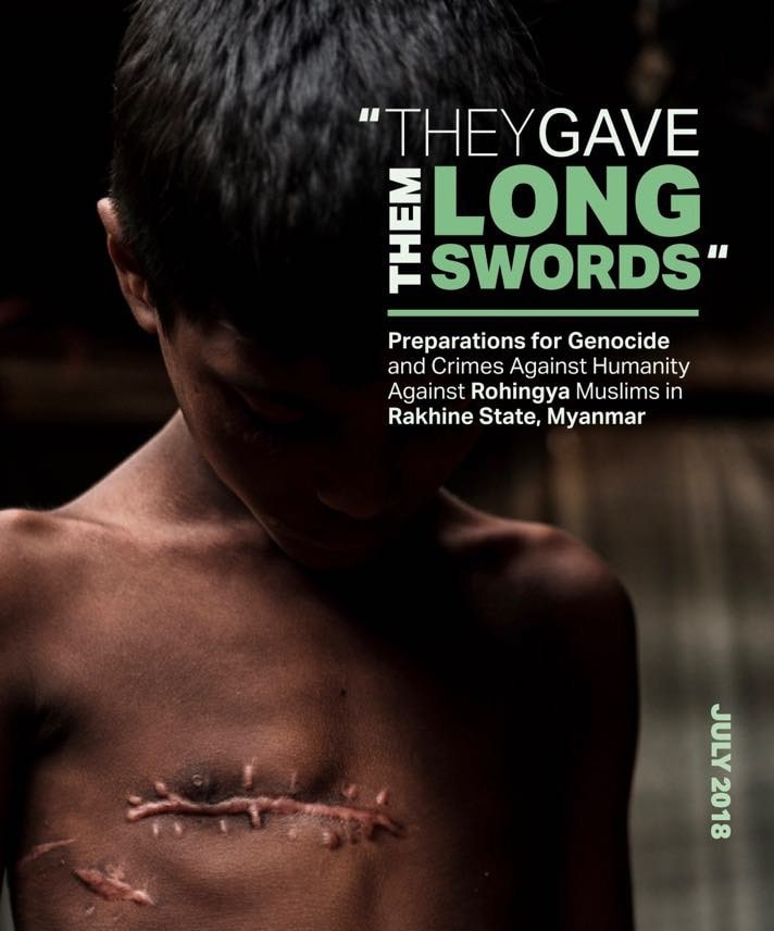 """""""Myanmar must be held accountable"""" - Fortify Rights Report 