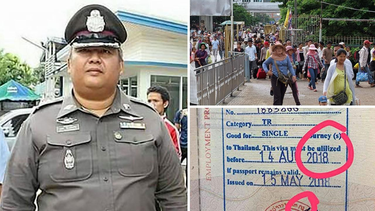 Up to 20,000 fake Thai visas being issued to Burmese | The Thaiger