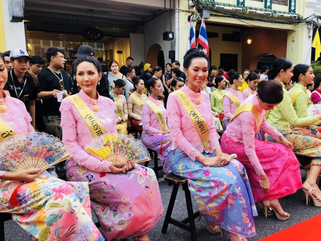 Miss Grand Thailand contestants walk the red carpet in Phuket Town   News by Thaiger