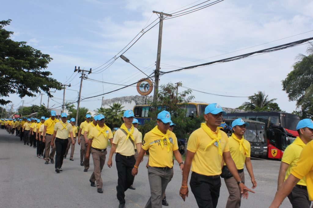 More than 3,000 volunteers join event to mark the King's birthday | News by Thaiger