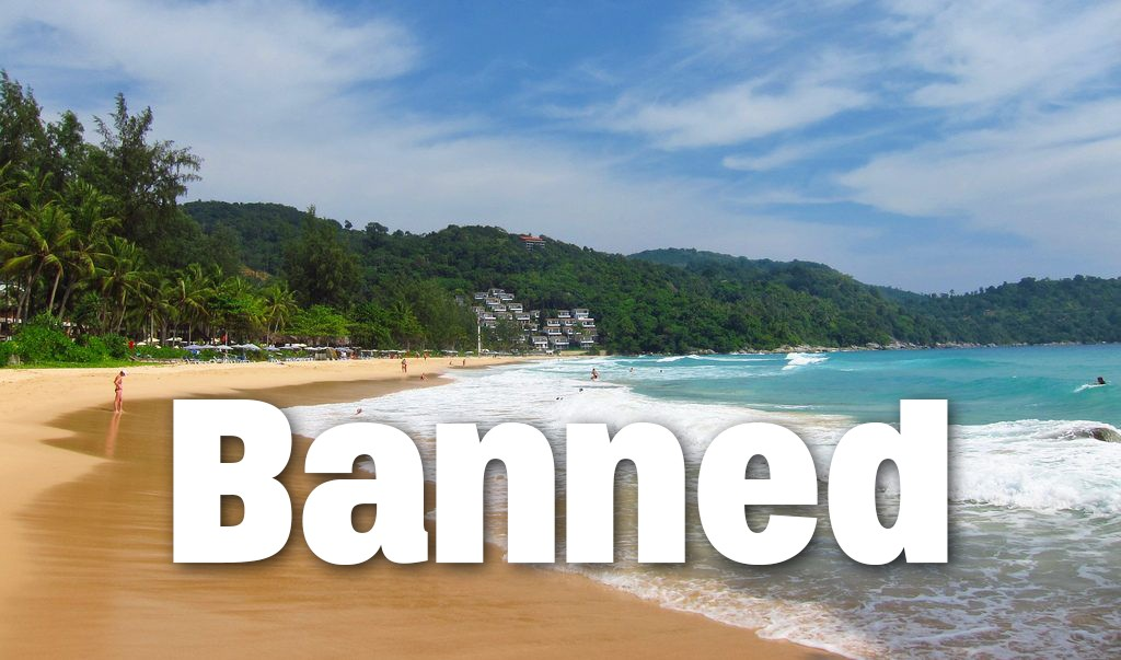 Beachgoers banned from swimming at Phuket beaches until crocodile is caught | The Thaiger