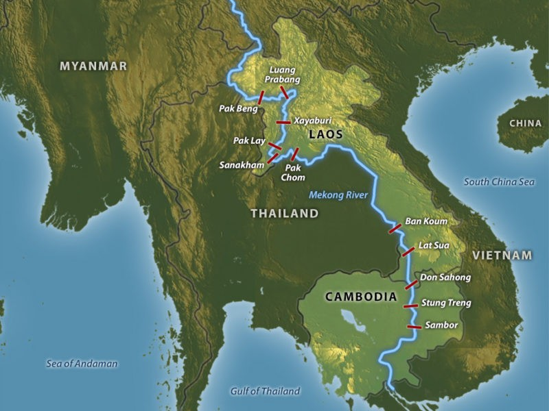 Thai and Chinese clash over damming of the Mekong | News by The Thaiger