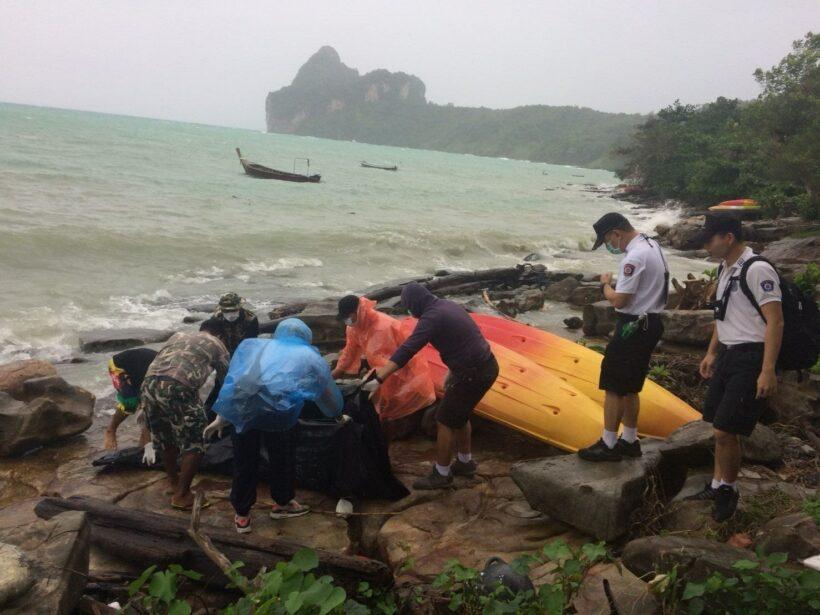 พบเพิ่มอีก 2 ศพ ชาย หญิง ลอยติดอ่าวโล๊ะดาลัม เกาะพีพี | The Thaiger