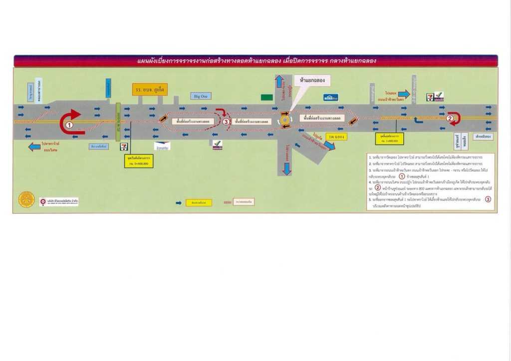 New traffic conditions at the Chalong Circle roadworks | News by The Thaiger