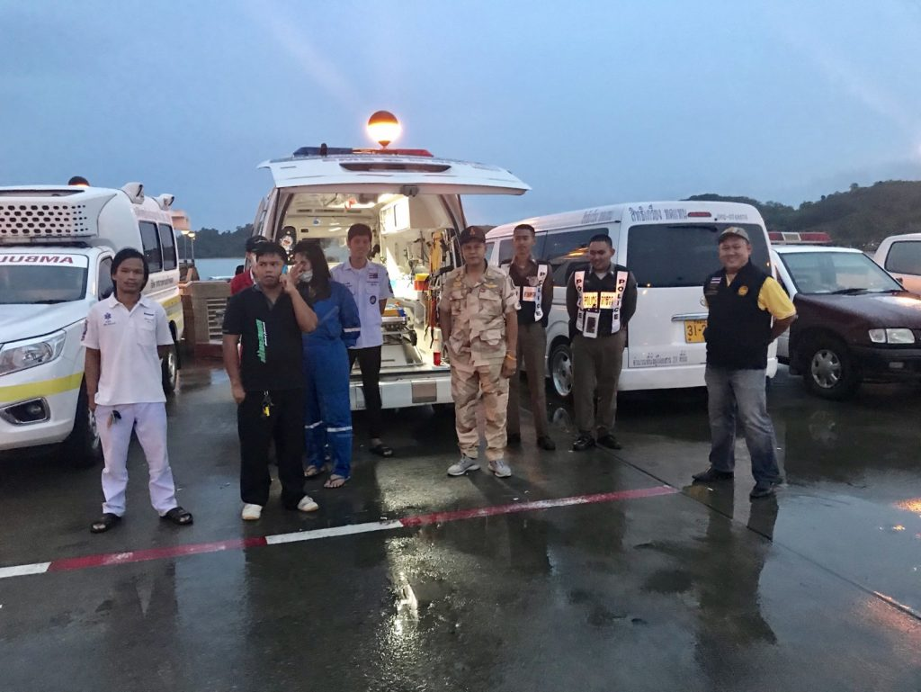 Search for a jet-ski operator missing off Ao Po | News by Thaiger