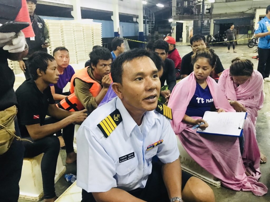 4-5 metres waves hit my boat, says Captain | News by The Thaiger