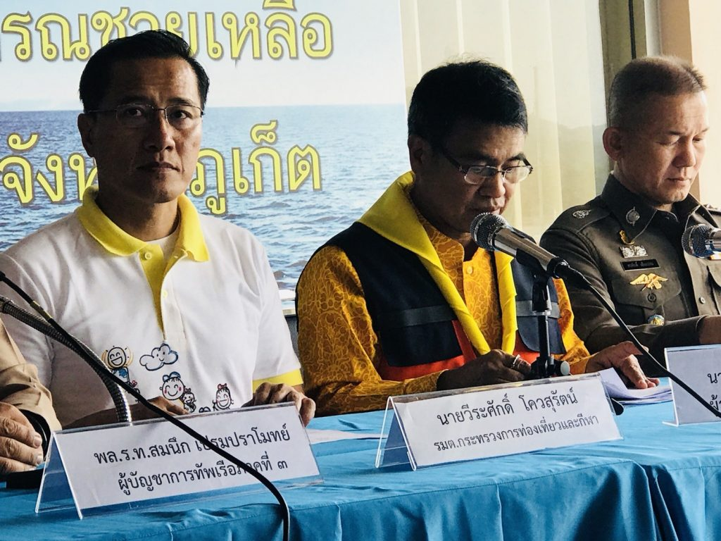 Phuket boat disaster toll: 43 dead, 4 remain missing | News by The Thaiger