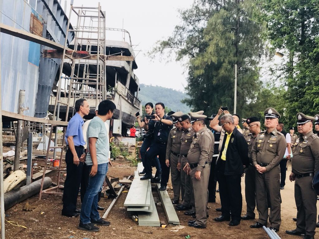 Court refused bail for 'Phoenix' owner and chief engineer | News by The Thaiger