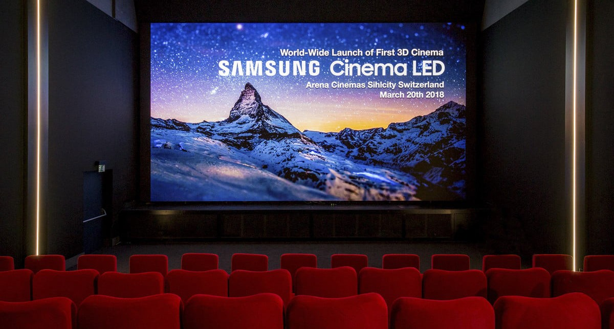 Are huge LED screens coming to your cinemas?   The Thaiger