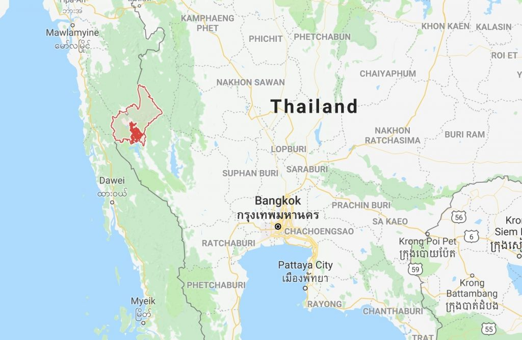 Flooding 'critical' in Sangkhla Buri - Kanchanabui province | News by The Thaiger