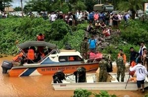 Rescuers search for 131 missing persons in Laos flooding   News by Thaiger