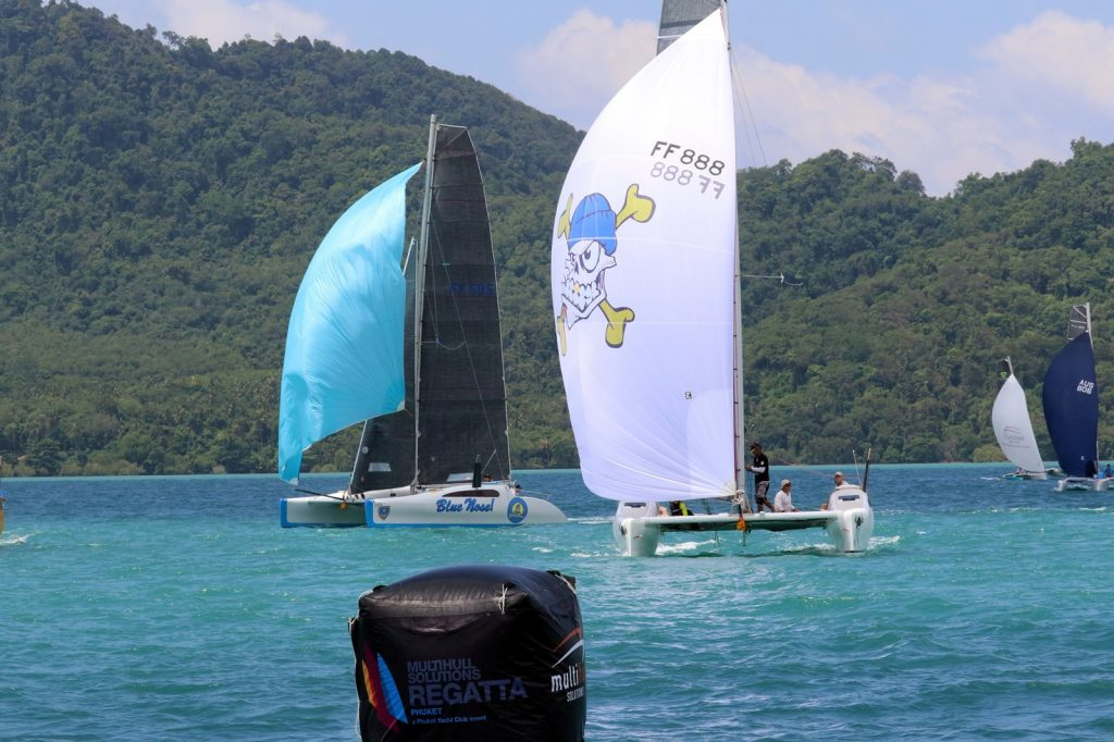Tenth Multihull Solutions Regatta gets underway | News by The Thaiger