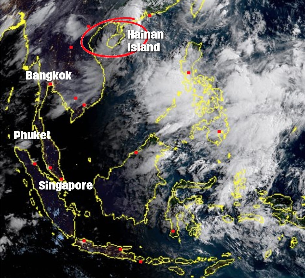 New tropical storm warning for north and north-east until Tuesday | News by The Thaiger