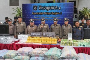 Sing Buri and Chiang Rai - major drug busts | News by Thaiger