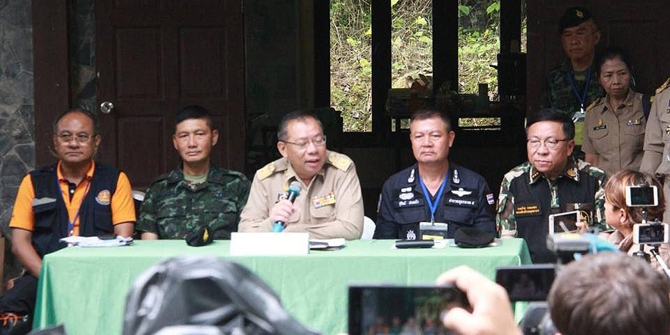 Chiang Rai: Governor says searchers headed for key cave area | News by The Thaiger