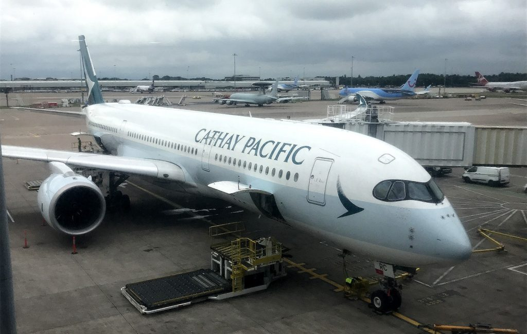 Cathay Pacific brings the first A350-1000 to Suvarnabhumi | News by Thaiger