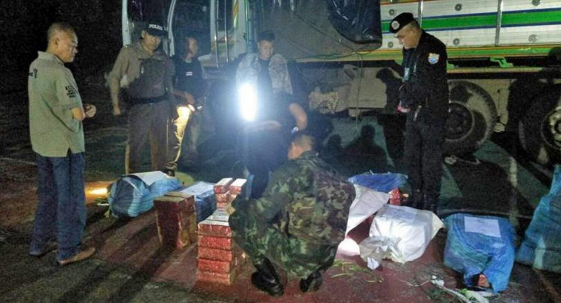Seven arrested over a 300 kilogram 'ice' shipment in Chiang Rai | The Thaiger