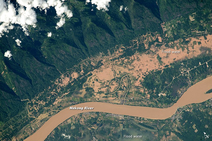 Rising Mekong threatens provinces in Thailand and Laos | News by The Thaiger