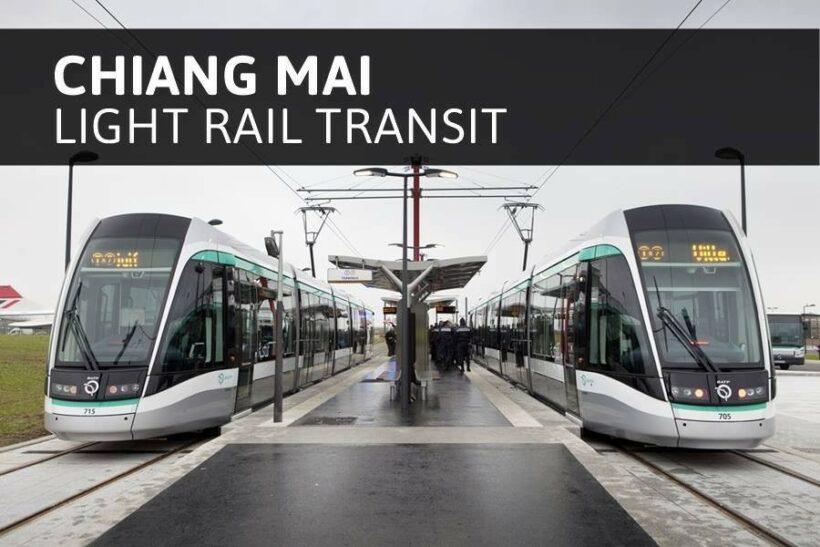 86 billion baht budget set for Chiang Mai light rail system   The Thaiger