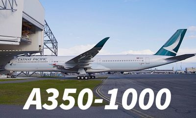 Cathay Pacific brings the first A350-1000 to Suvarnabhumi | The Thaiger