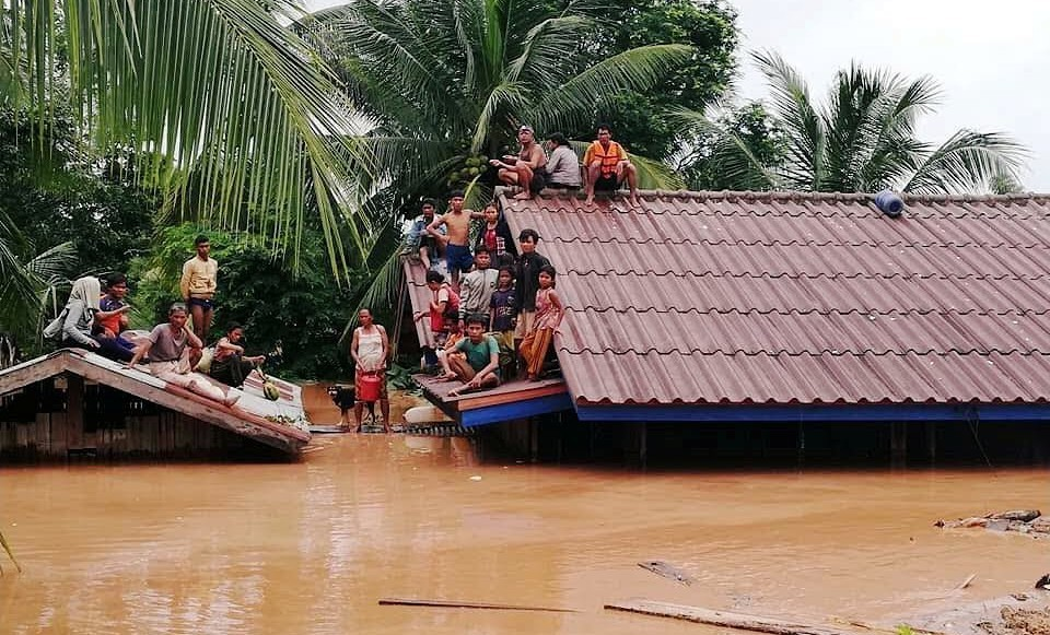 Hundreds dead, thousands displaced – Laos dam bust. | The Thaiger