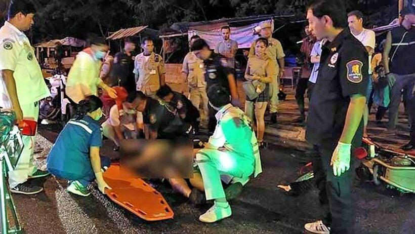 Swedish tourist dies in Pattaya motorcycle crash | The Thaiger