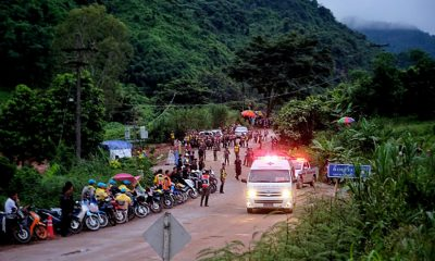 Chiang Rai: Final five OUT of the Tham Luang caves | The Thaiger