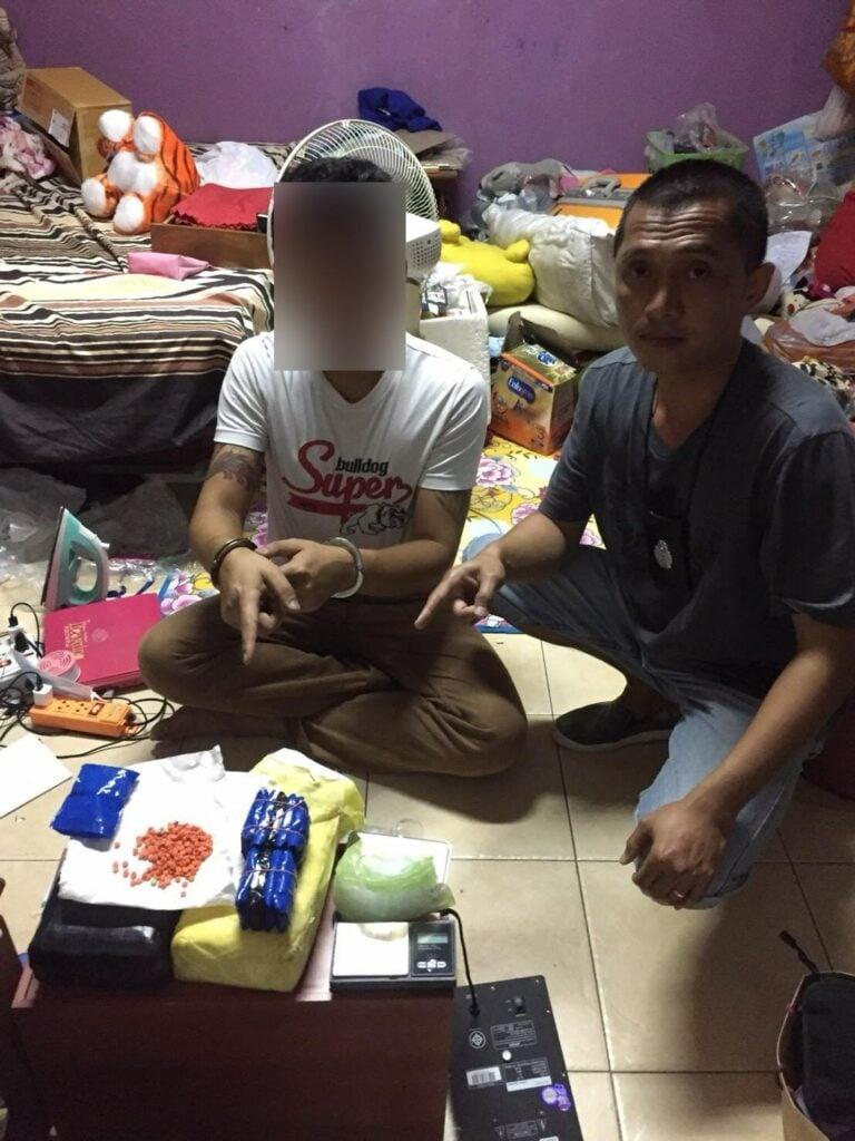 Phuket man arrested with 20,000 methamphetamine pills   News by Thaiger